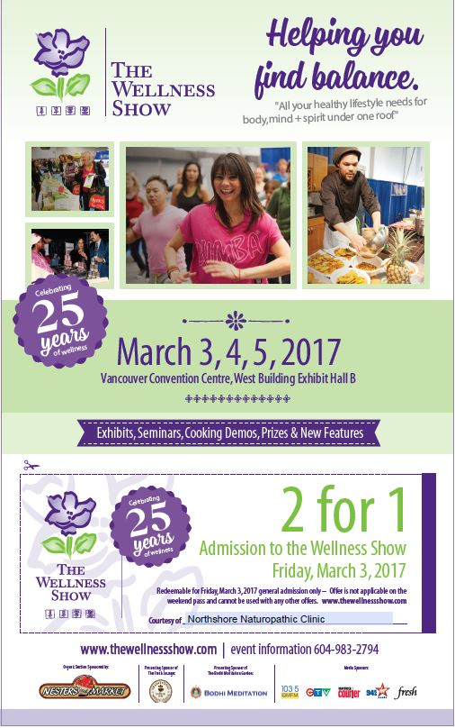 Wellness Show coupon